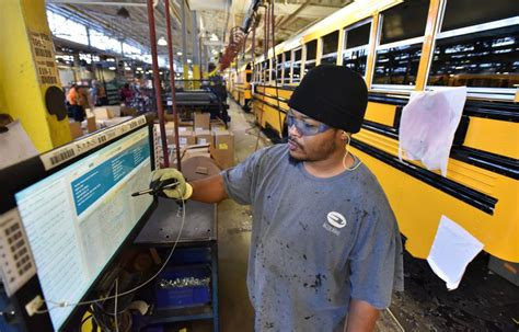 fortunes on the rise at georgia s blue bird bus company