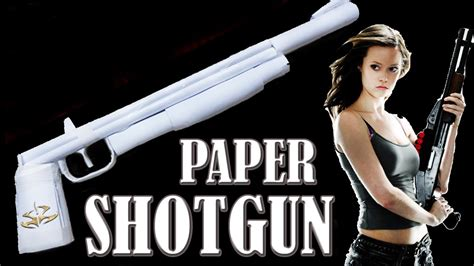 How To Make A Paper Shotgun That Shoots - how to make a paper shotgun that shoots rubber band