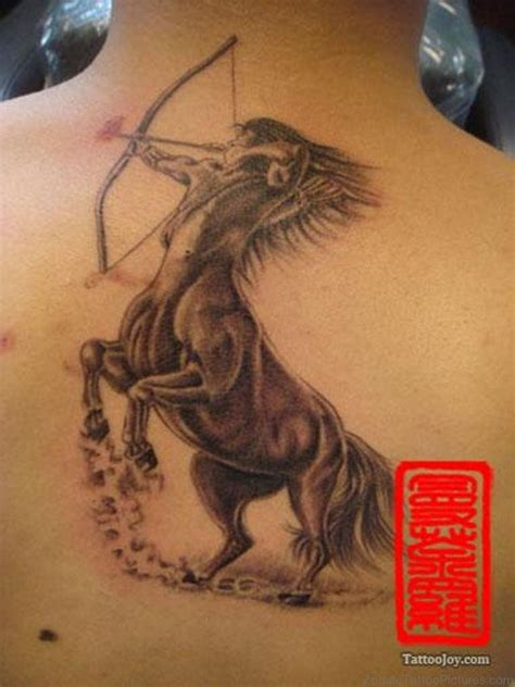sagittarius tattoo 40 impressive sagittarius tattoos on back