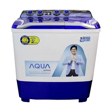 Sanyo Mesin Cuci 2 Tabung Aqua Series Sw870xt Jual Aqua Sanyo Qw1080xt Series Mesin Cuci 2 Tabung