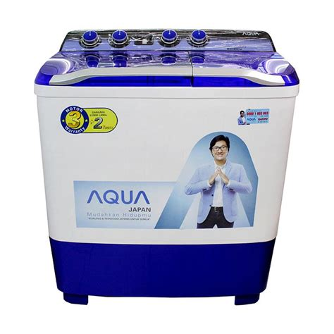 List Mesin Cuci Sanyo jual aqua sanyo qw1080xt series mesin cuci 2 tabung