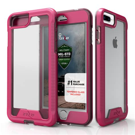 for iphone 7 plus 5 5 zizo ion tempered glass tough armor cover ebay