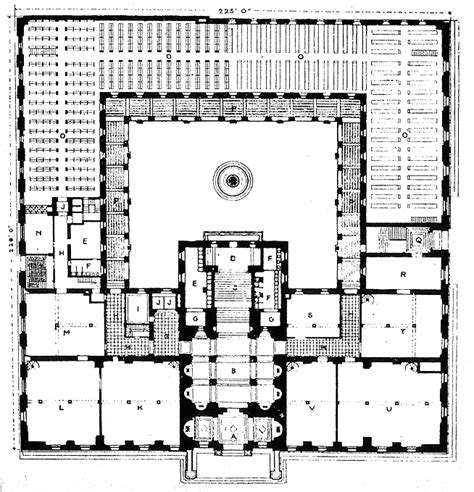 House Design Blueprints by File Boston Public Library Plan Jpg Wikimedia Commons