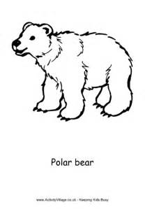 polar coloring pages polar colouring page