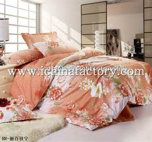Orange Double Duvet Cover Set China Factory Cotton Duvet Cover Set Colorful Comforter