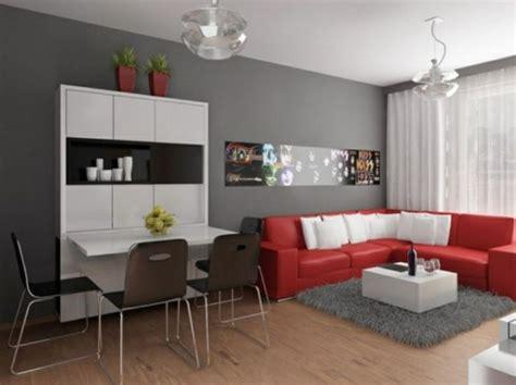 gray walls red couch red couch gray walls gray rug nyc crib pinterest