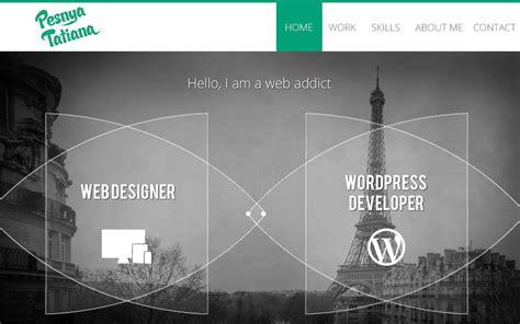 design inspiration web portfolio portfolio web addict html inspiration html css web