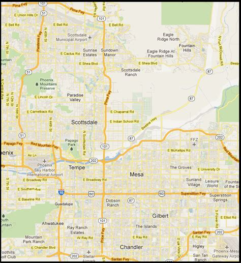 map of eastern arizona map of eastern az pictures to pin on pinsdaddy