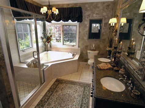 home design interior traditional master bathroom