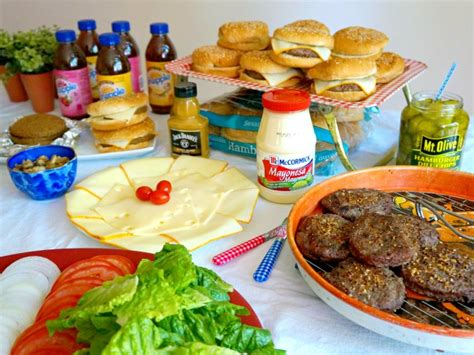 Burger Bar Topping Ideas by A Burger Bar With Topping Ideas