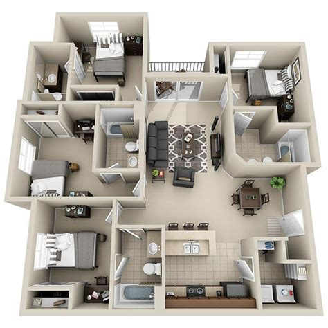 4 bedroom apartments in virginia ucribs