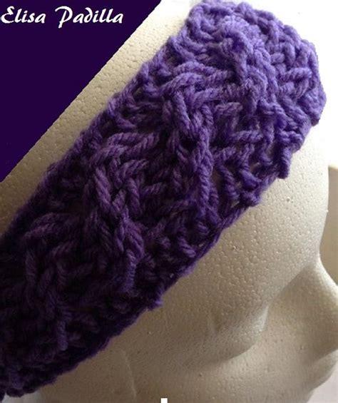 knitting loom headband pattern 23 best images about loom knitting headbands on