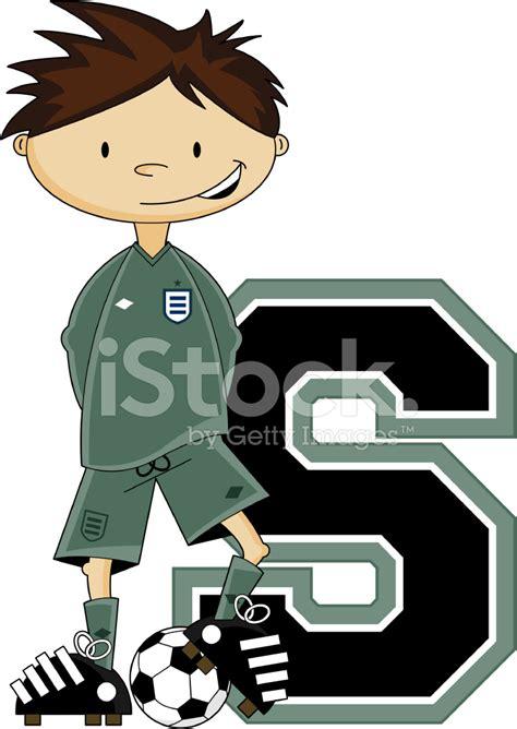 soccer football goalkeeper learning letter s vector art getty images futebol goleiro aprendizagem letra s stock vector freeimages com