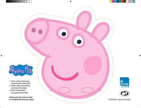 Printable Images Of Peppa Pig | let your preschooler plan their own peppa pig party with