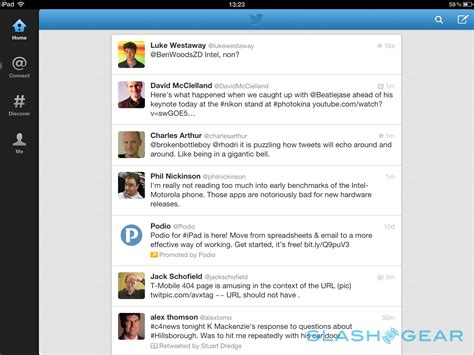 twitter ipad layout twitter for ipad v5 0 gets big and not quite perfect ui