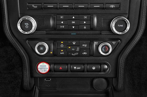 2015 ford mustang base 2015 ford mustang center console interior photo