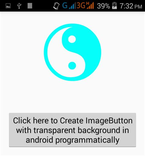 imagebutton android create imagebutton with transparent background in android programmatically android exles