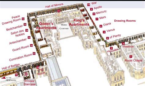 palace of versailles floor plan versailles