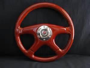 Aftermarket Wood Steering Wheels New 14 Quot Custom Mahogany Wood Grain Steering Wheel Ebay