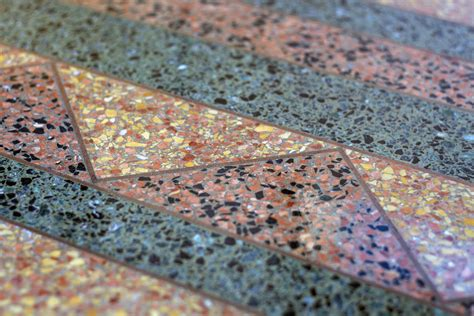 terrazza bodenbelag terrazzo patterns in modern design