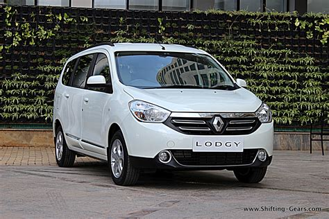 renault mpv renault lodgy review shifting gears