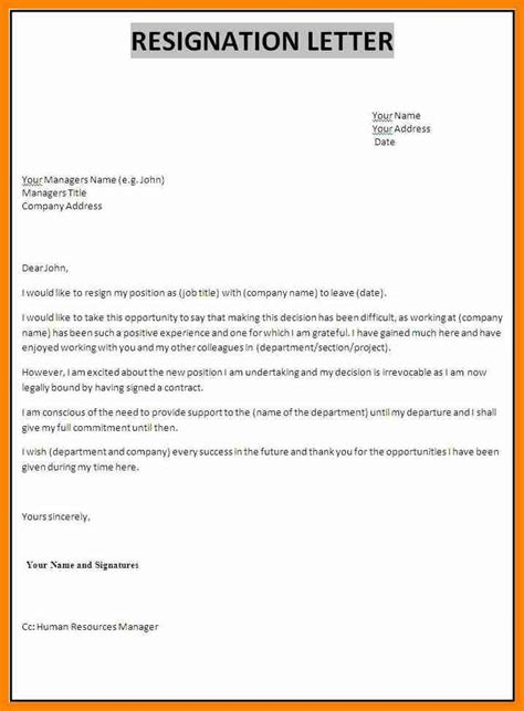 best up letters of all time 11 the best resignation letter cover title page