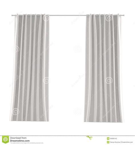 weisser vorhang wei 223 er grauer vorhang stockfotografie bild 35609142