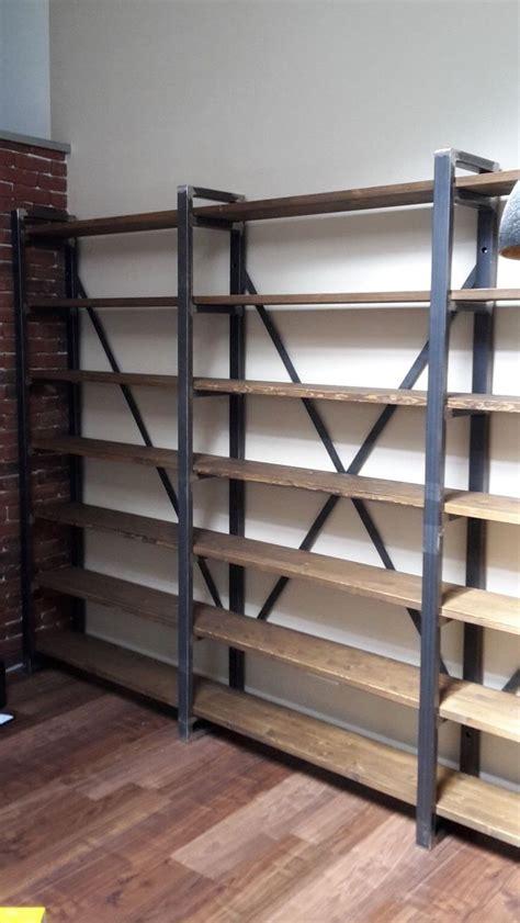 regal industrial loft design buecherregal industrie fabrik