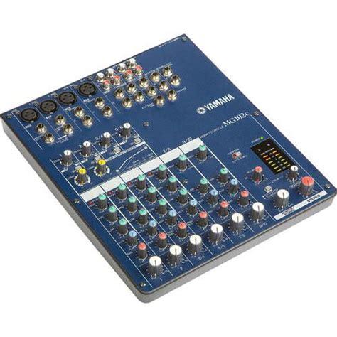 Mixer Yamaha 2 Channel Yamaha Mg102c 10 Channel Mixer With 2 Mono Inputs 4 Mg102c B H