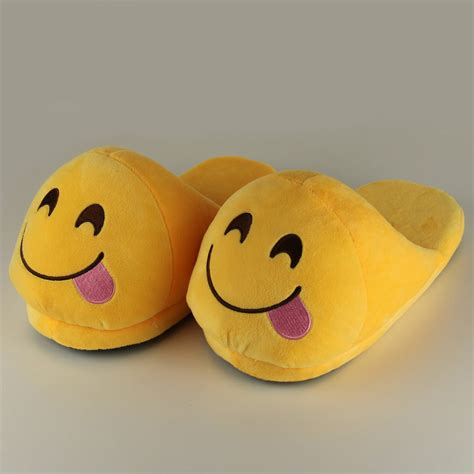 mens funny house slippers מוצר funny mens plush slippers 2015 indoor shoes house cute women slippers emoji