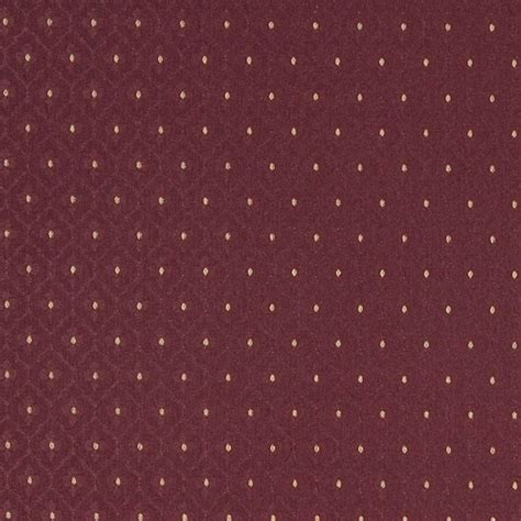 Automotive Upholstery Cleaner A474 Burgundy And Gold Diamonds Upholstery Fabric By The