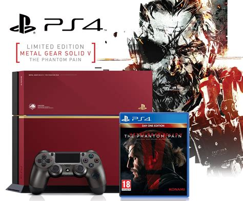 metal gear solid 5 console pan european release for metal gear solid v the phantom