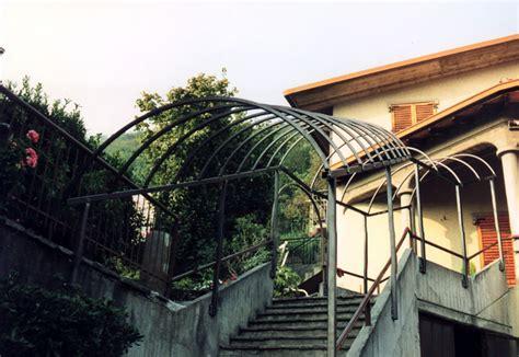 tettoie per porte pensiline in ferro per porte e scale tendasol