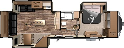 30 foot travel trailer floor plans 2016 open range 3x fifth wheels 3x349rls by highland ridge rv
