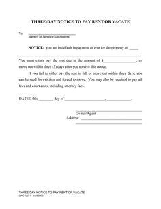 sle eviction notice for unpaid rent notice by lessor of termination of residential lease and