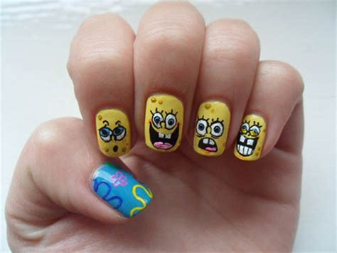 cartoon nail art designs beauty tips hair care vine vera