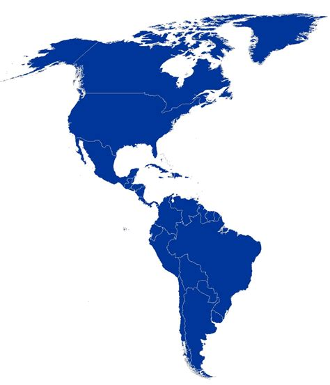 map of american continent mahalo