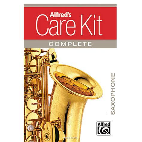 Saxophone Care Kit alfreds complete tenor saxophone care kit at gear4music