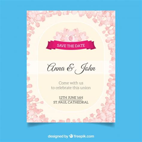 Wedding Card Vector Ai by Wedding Card Vector Free