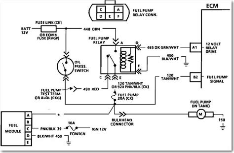 fuel relay wiring diagram gm truck periodic