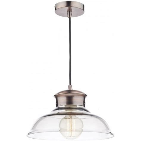 Dar Pendant Lighting Dar Sir0164 Siren 1 Light Ceiling Pendant Copper