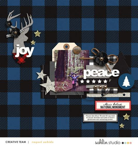 Creating Hybrid Scrapbook Layouts The Mad Cropper 4 by Mad For Plaid Elements Sahlin Studio Digital