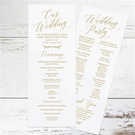 Wedding Pictures Templates by 37 Best Wedding Program Ideas Images On