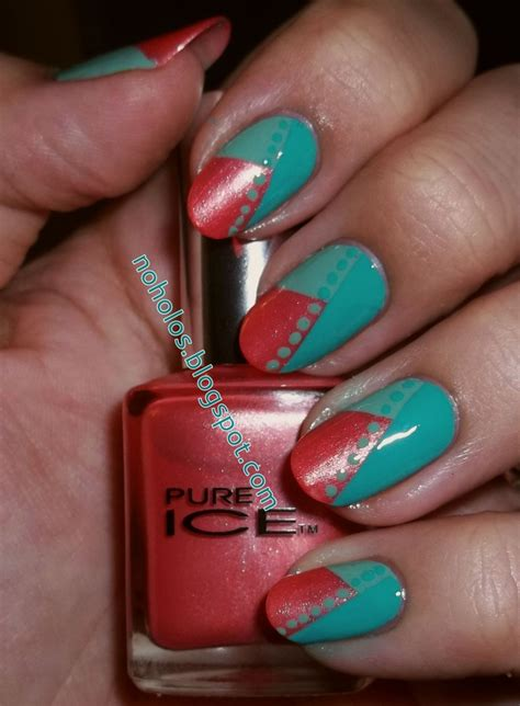 teal tuesdays nail art challenge images