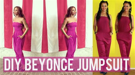 Are You Jumping Queues For A Jump Suit Play Suit by How To Diy Jumpsuit Inspired By Beyonce Diy Clothes