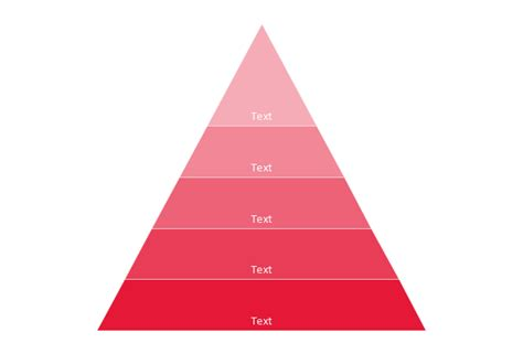 Pyramid Diagram 3d Triangle Diagram Template How To Hierarchy Pyramid Template