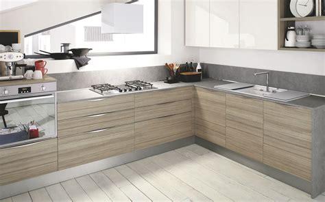 cuisine moderne bois clair le bois chez vous