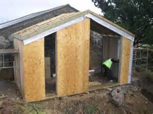 Diy Lean To Shed Plans Free by Timber Frame Extension Cornwall Built On Site In 3 Days Www Onsiteframing Co Uk Youtube