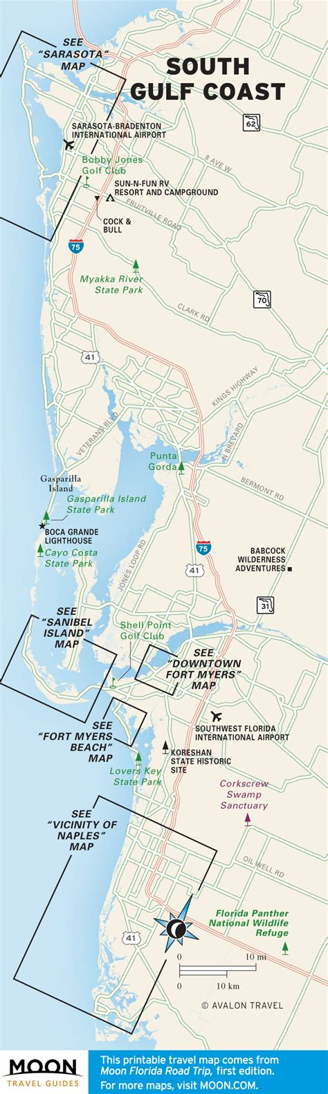 biloxi map travel map of the south gulf coast of florida