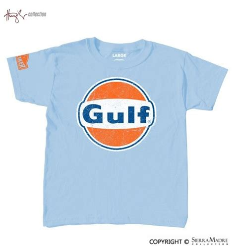 gulf racing logo porsche parts gulf racing logo youth t shirt by nicolas